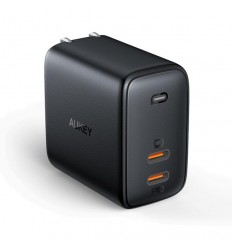 AUKEY PA-B4 OMNIA DUO 65W DUAL-PORT PD WALLCHARGER