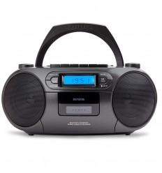 Aiwa BBTC - 550ΒΚ Φορητό Ραδιοκασετόφωνο (Μαύρο)