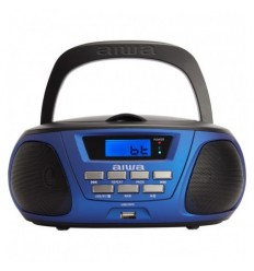 Aiwa BBTU-300BL Μπλέ Φορητό Bluetooth Ηχοσύστημα