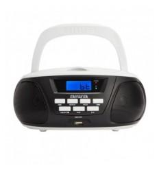 Aiwa BBTU-300BW Άσπρο Φορητό Bluetooth Ηχοσύστημα