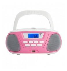 Aiwa BBTU-300PK Ρόζ Φορητό Bluetooth Ηχοσύστημα