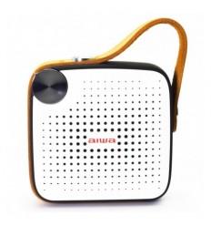 Aiwa BS-100BK Λευκό/Μαύρο Φορητό Bluetooth Ηχείο